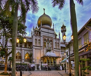The-Sultan-Mosque-at-Kampong-Glam-Singapore