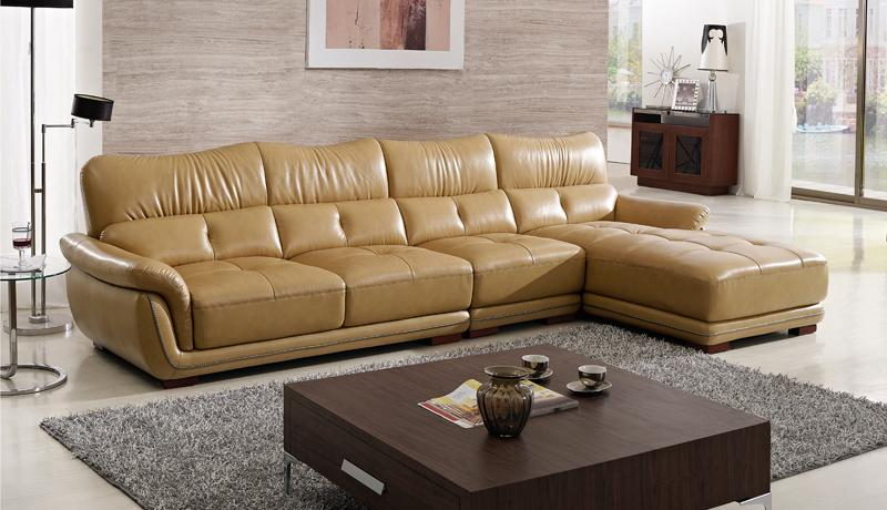 free-shipping-modern-font-b-design-b-font-sofa-yellow-top-grain-cattle-leather-solid-wood
