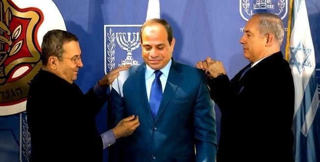 السيسي-واسرائيل1