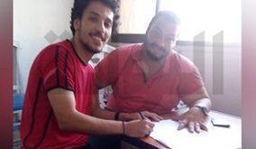 دمياط يضم محمد عوض مهاجم بيراميدز موسمًا واحدًا