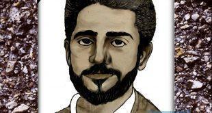 من رسائل النافذة  رسم لصورة عبدالله محمد مرسي رحمة الله عليه