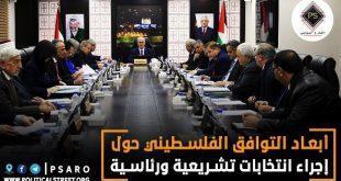 أبعاد التوافق الفلسطيني حول إجراء انتخابات تشريعية ورئاسية