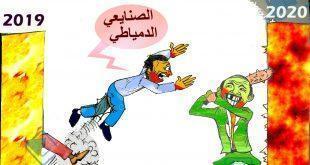 كاريكاتير النافذة : حال الصنايعي الدمياطي من 2019 الى 2020