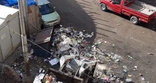 فشل المدافن الصحية للقمامة في استيعاب اطنان القمامة اليومية بالشوارع واصبحت سمة وعلامة ميادين دمياط