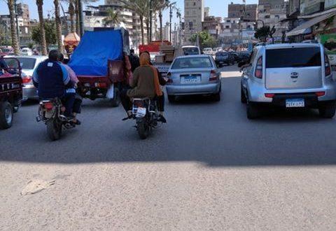 شوارع دمياط اليوم