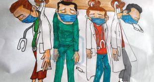 #كاريكاتير_النافذة | الحكومة الفاشلة وشماعة الاطباء في انتشار الوباء