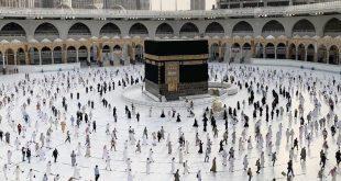 آخر مناسك الحج.. حجاج بيت الله الحرام يؤدون طواف الوداع