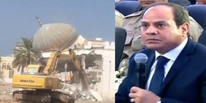 «هدم المساجد» في سياق حرب السيسي على الهوية الإسلامية لمصر