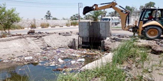 غرامة 10 آلاف جنيه والإحالة للنيابة عقوبة إلقاء القمامة بالمجارى المائية